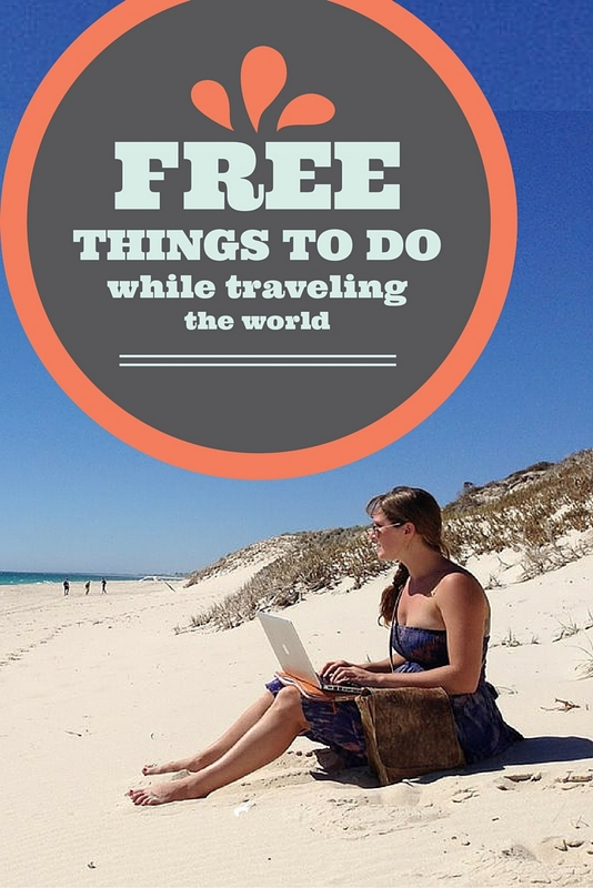 Free activities while traveling