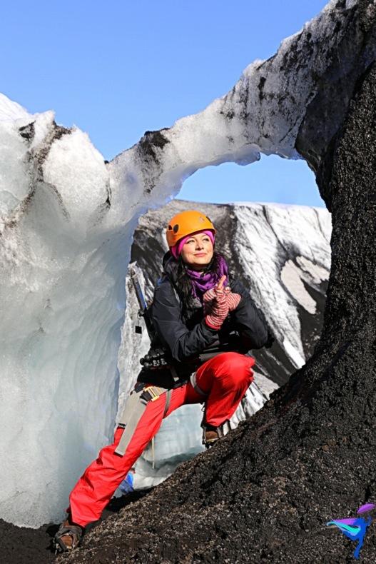 Ice Climbing on Sólheimajökull Glacier Iceland