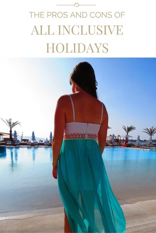Pros and cons of an all inclusive holiday