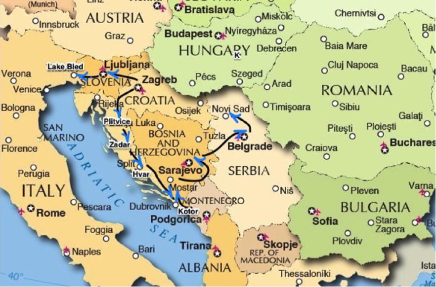 Visit Former Yugoslavian Countries