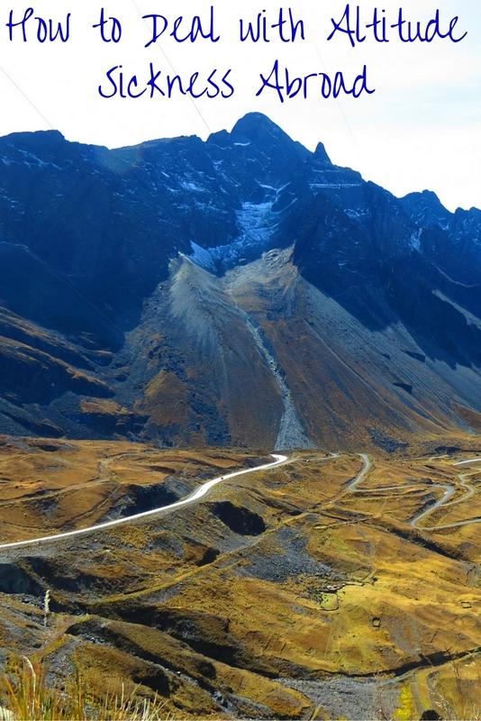 Bolivian Mountain Scenery
