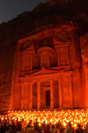 If you want to feel like you've walked directly on to the set of an Indiana Jones film, visit the stone city of Petra.