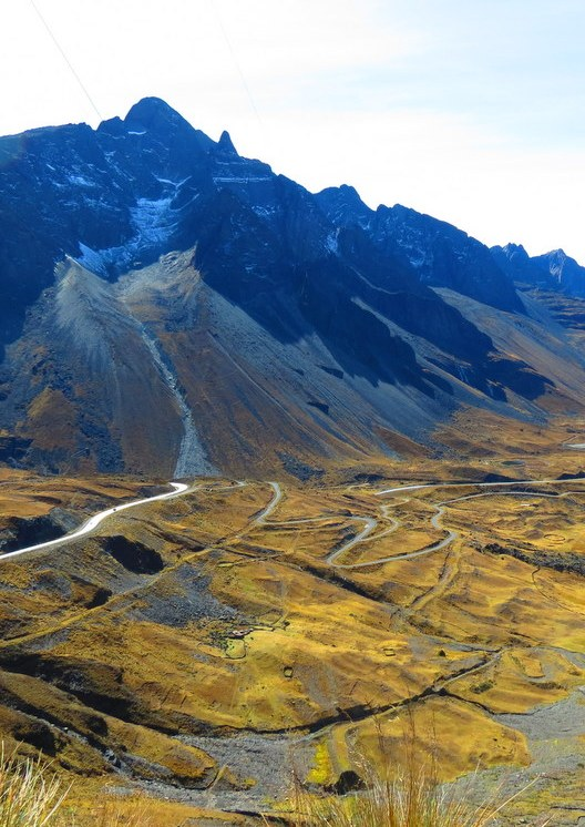 """Bolivia's """"Death Road"""" is largely known as the most dangerous road in the world."""