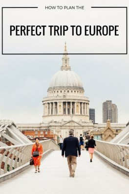 For independent travelers who don't like to use a travel agent, and prefer to set their own itinerary, there's now an easy way to plan your perfect trip to Europe. A free do-it-yourself trip planning tool called Route Perfect which generates European itineraries based on your travel preferences, budget and personal style.