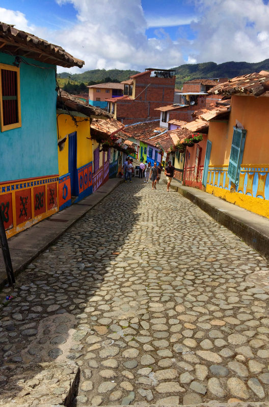 Guatape/Piedra del penol are a must visit for anyone who is visiting Medellin. Not only do you get an amazing view when you get to the top of Penol but also you can get a taste of the Colombian way of living while wandering the streets of Guatape.