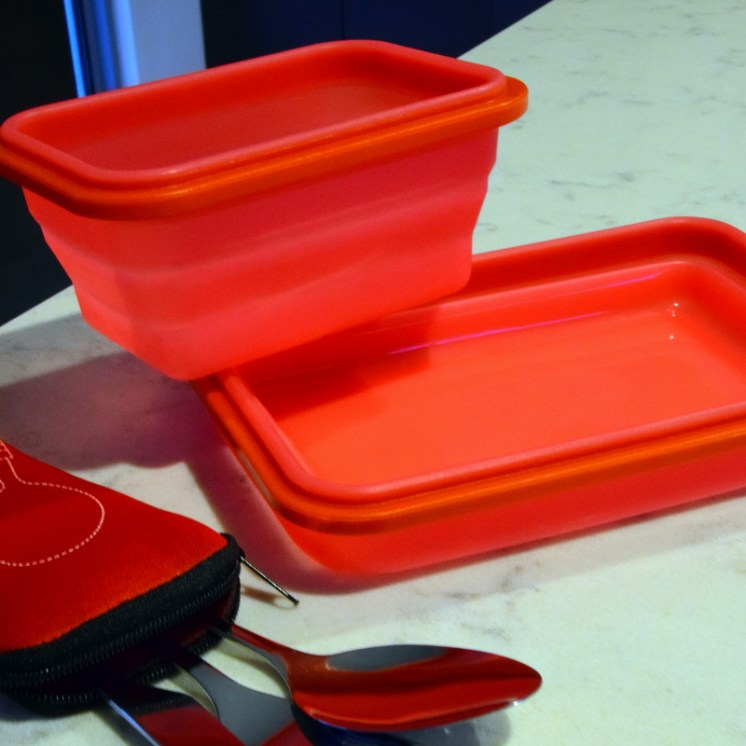 Use These Cookbooks If You Re Broke But Still Want To Eat: Space Saving Collapsible Kitchen Containers For Travelers