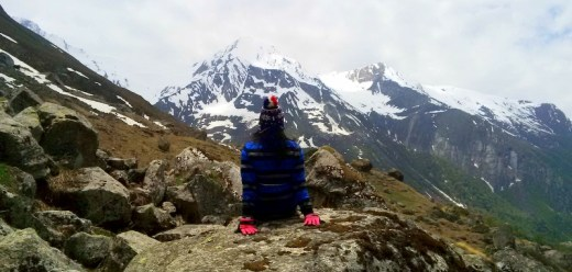 Hiking the high passes of Himalayas