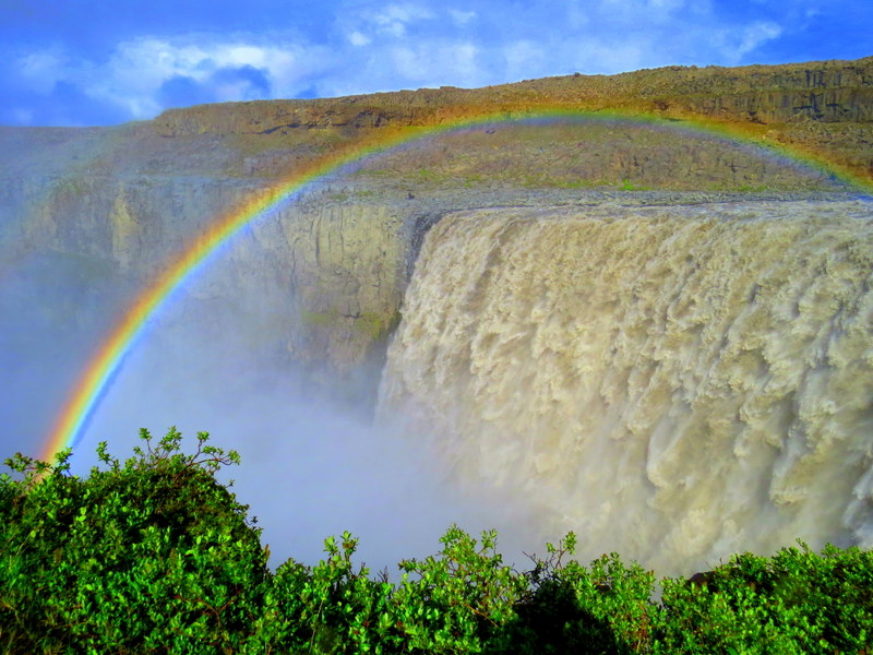 The largest, most powerful waterfall in Europe, Dettifoss will blow you away with its sheer volume and size. Ripping through a glacial river and plummeting into an enormous gorge, this is Iceland's version of the Grand Canyon.