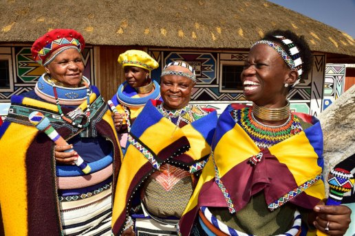 Ndebele Village, Mpumalanga, South Africa