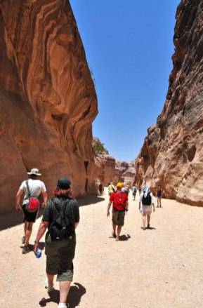 To experience Petra properly you have to walk for at least 5 hours. The trek follows Bedouin migration paths and remote hunter's routes through the wilds of Jordan.