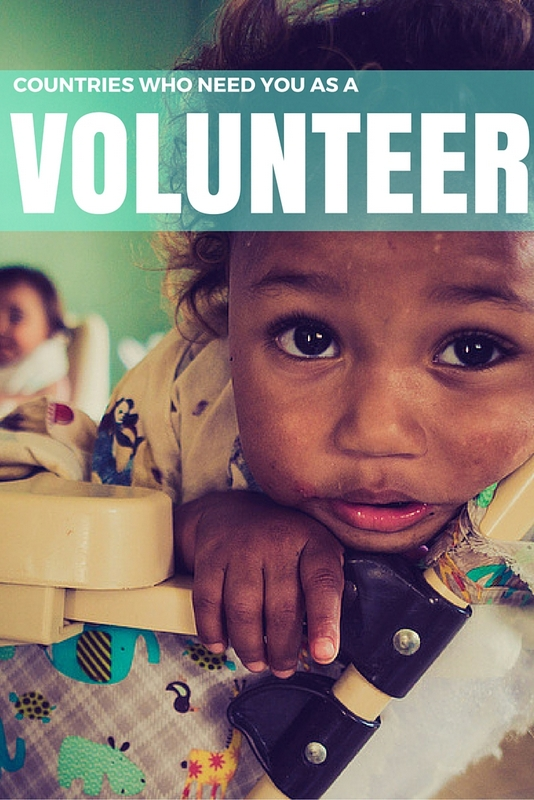While every country needs volunteers equally, there are a number of countries that are notoriously resource strapped, and often overlooked by international volunteers who opt for more popular destinations when choosing their placements.
