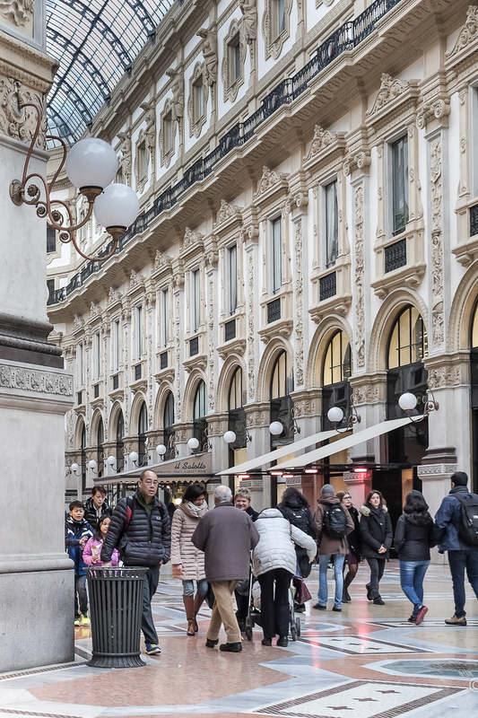 A list of best cities for shopping wouldn't be complete without Milan.