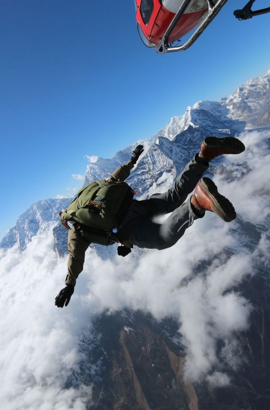 Climbing Everest not for you? Why don't you take the jump instead?! Photo by Everest Skydive.