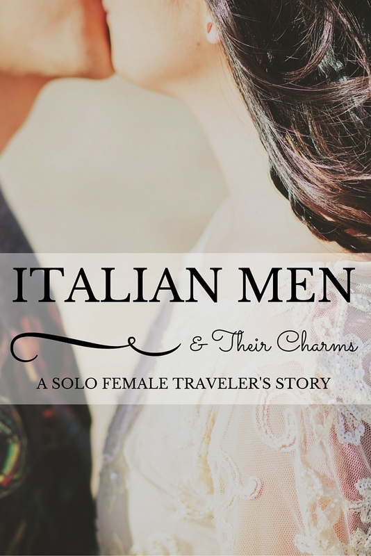 dating a italian man Romantic and confident italian men, coupled with the atmosphere and weather of italy, can make for a magical dating scene date italian men.