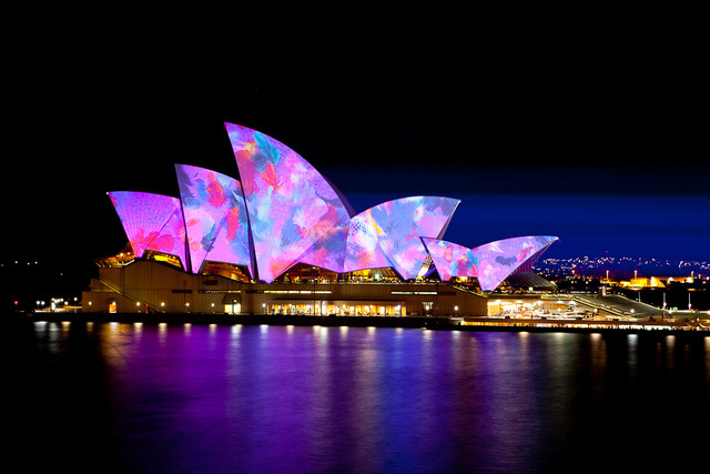 Sydney Opera House VIVID Live