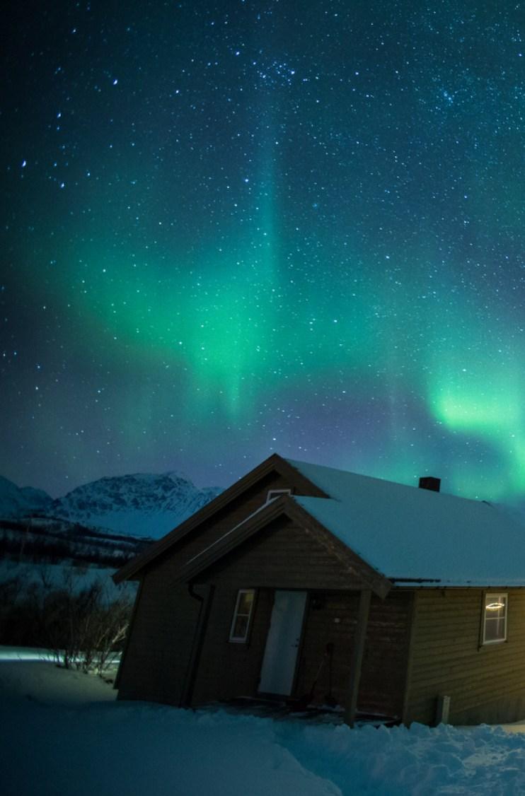 Flights See Northern Lights