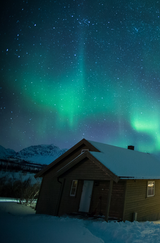 The Polar Night refers to the three months Svalbard goes without daylight. This perpetual eerie blue twilight means you have the best chances of seeing the Northern Lights.