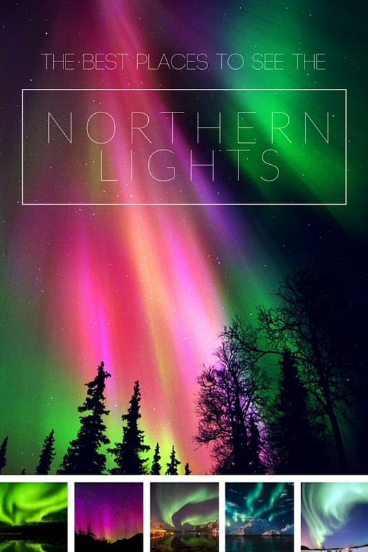 There is no exact science to seeing the Northern Lights, and that there's never any guarantee. Though from the northernmost fjords of Norway to the snow-enveloped wilderness of Alaska, here are some of your best bets.