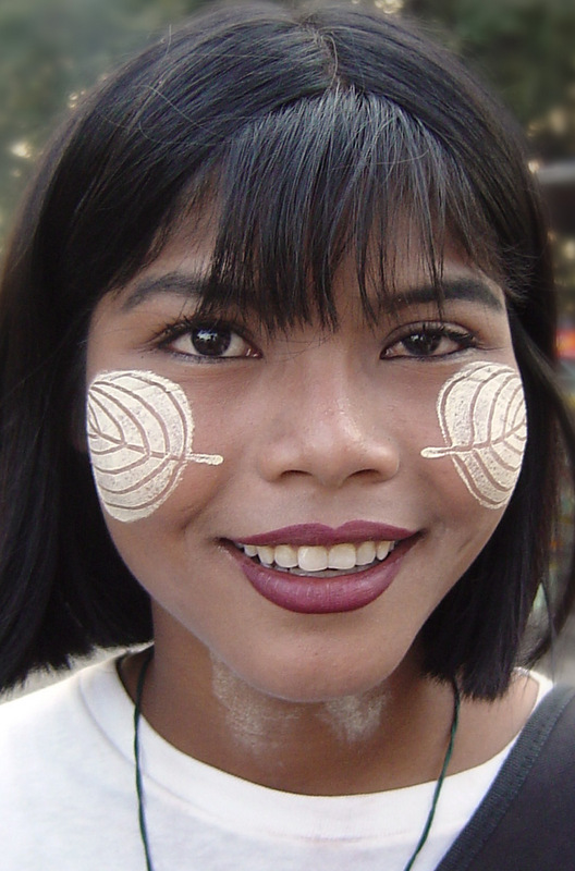 There are many unique sights that capture a traveler's eye when they arrive in Myanmar. One that sparks the curiosity of many people new to the country is the yellow patterns painted on people's faces.