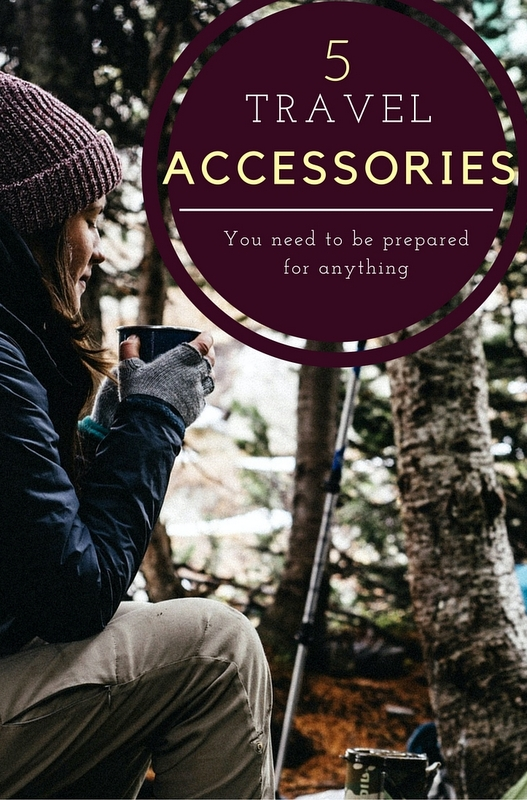With careful planning and a few handy travel accessories you can be prepared for anything.