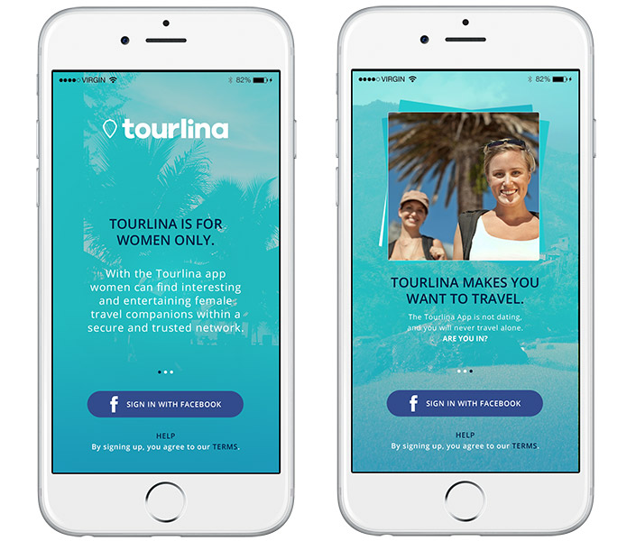 Tourlina App Solo Female Travel