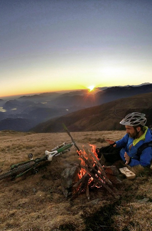 If flying isn't for you, perhaps a two-wheeled, man-powered road trip that involves riding, camping, and slowly following whatever path you decide to lay out before you is more your speed.