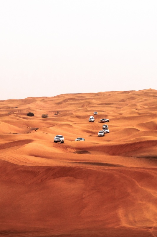 One of the most famous excursions in Dubai is the Desert Safari, and while most tourists book this as a day trip, honeymooners should opt for staying overnight in a Bedouin camp.