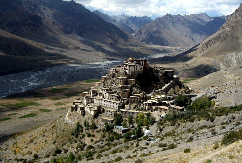 Buddhist Monastery of Ki, Ki Village, India