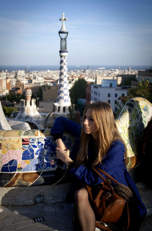 Free things to do in Barcelona: Park Güell is a great option if you'd also like to explore some amazing Gaudí architecture.