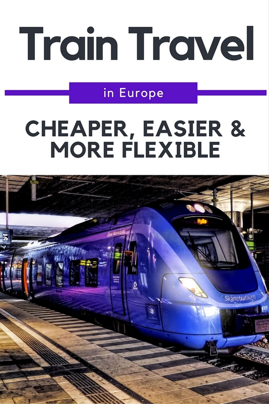 When breaking it down, train travel is ultimately much cheaper, easier, flexible, time saving and comfortable than other options.