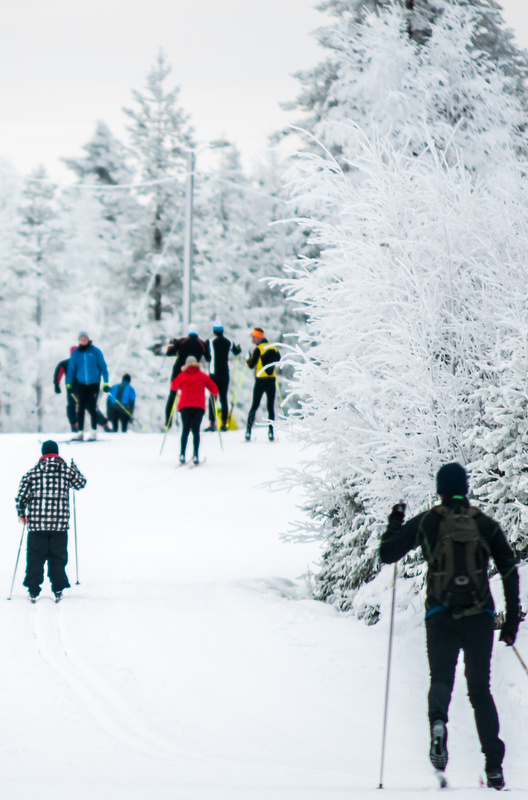 Big ski resorts and towns can be excellent for having everything at your fingertips, including a fun, bustling vibe. The downside: The slopes can be busy and crowded.