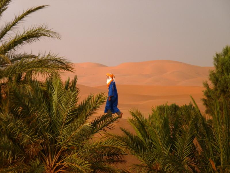 Morocco Desertman