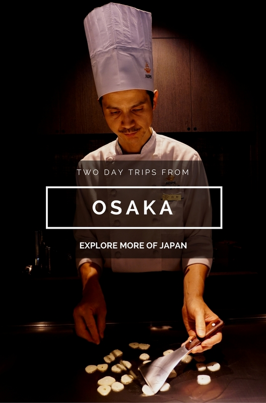 The following are two great cities for exploring more of Japan, both under an hour away from Osaka, making each perfect for a day trip during your stay.
