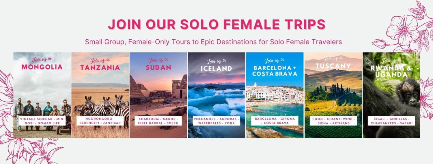 Female only tours