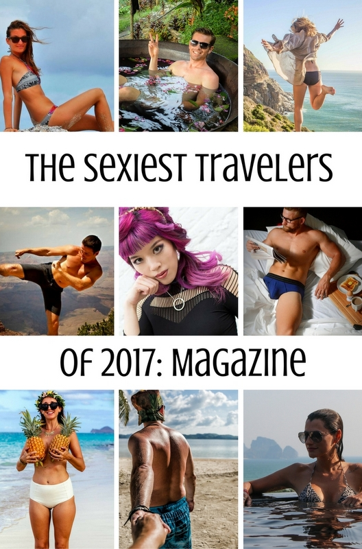 Check out the sexiest travelers of the year!