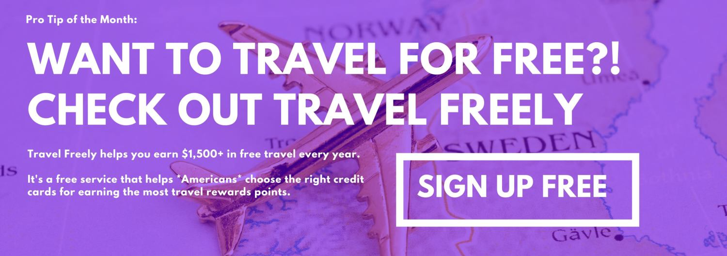 TravelFreely Affiliate Banner