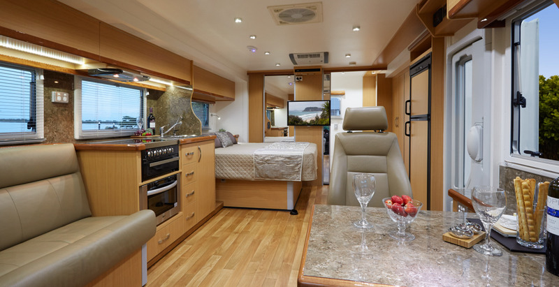 a superb 4WD driving experience makes this classy and spacious motorhome your one stop shop to living the life on the open road.