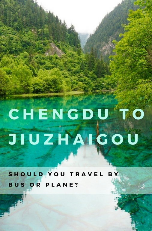 If thinking of traveling from Chengdu to Jiuzhaigou, use the following information to guide your choice as to whether it's best to catch a bus or a plane.