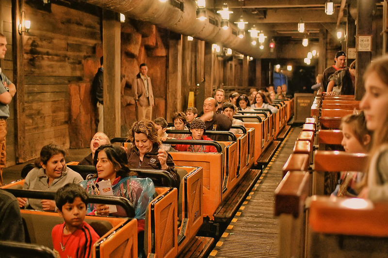 Big Thunder Mountain Railroad roller coaster