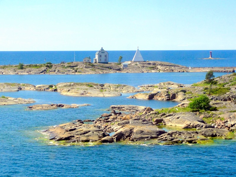 Arriving the Åland Islands