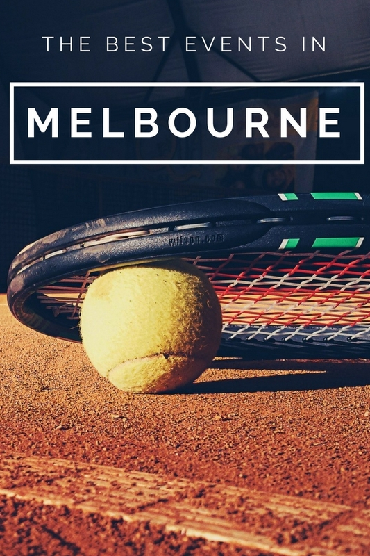 From the Australian Open in January to the Comedy Festival in March and April, why not travel for one of the following major annual events?