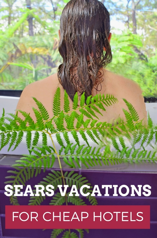 With over 300,000 resorts and hotels available to choose from, Sears Vacations is just like any other hotel search engine. Except for the hugely discounted price.