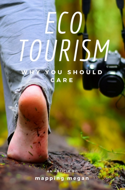 """Unlike being a foodie, a beach-bum, or a wine connoisseur, """"eco-tourism"""" is one term which ultimately affects every kind of traveler, and something that, regardless of your interests, every traveler should care about."""
