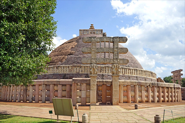 The UNESCO World Heritage Site is the oldest stone structure in India, which is preserved till date.