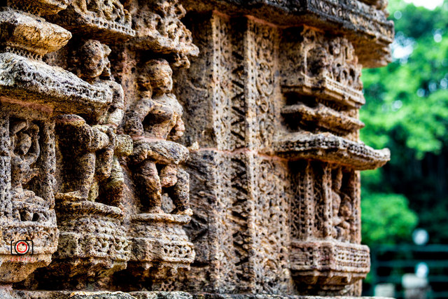 Konark Sun Temple is a 13th-century CE Sun Temple at Konark in Orissa, India.
