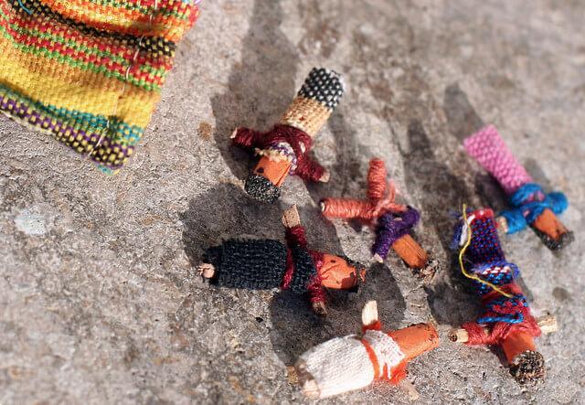 Guatemalan worry doll