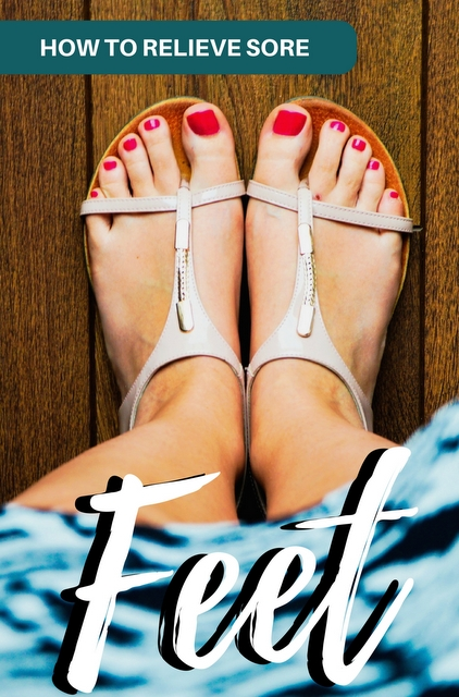 All travelers experience sore feet and foot pain, and usually it's because you've been on your feet all day. Here are some tips on how to heel that pain!