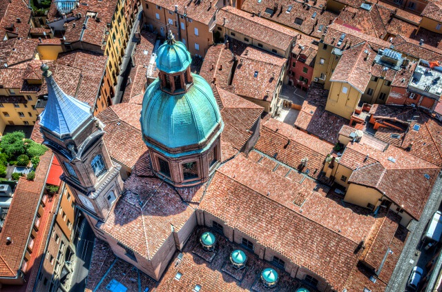 View from the Asinelli Tower