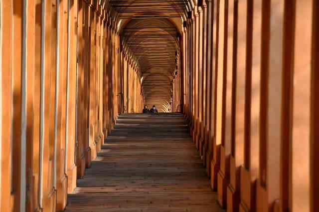 Bologna's Sheltered Walkways
