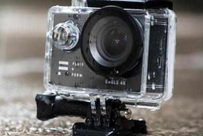 Fluid + Form's Eagle 4K – Best Action Camera Under $100